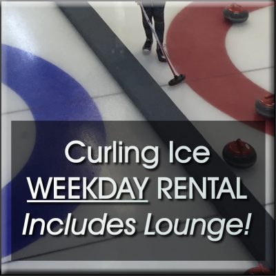 booking button Torrington Curling ice weekday