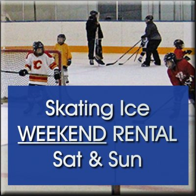 booking system skating ice weekend